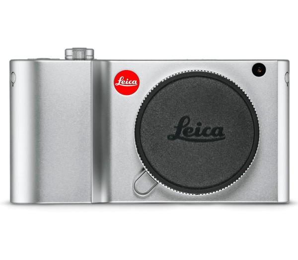 Leica TL2 Systemkamera silber (18188) - Frontansicht
