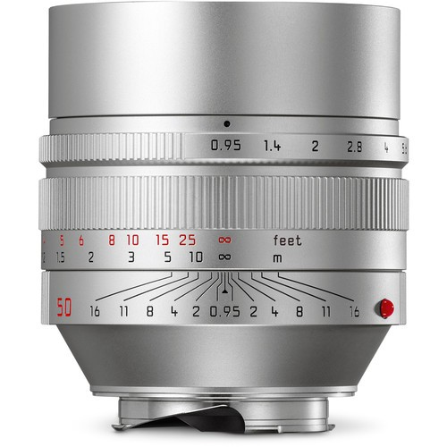 Leica Noctilux-M 50mm f/0.95 ASPH. Objektiv silber 11667