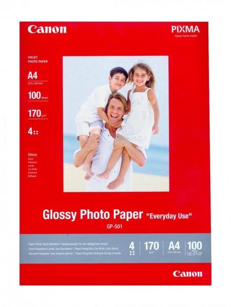 Canon GP-501 Fotopapier glänzend A4 100 Blatt (210g/qm)