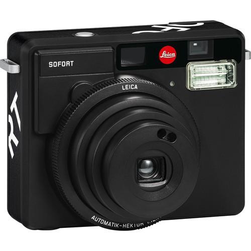 Leica Sofort schwarz - Schrägansicht