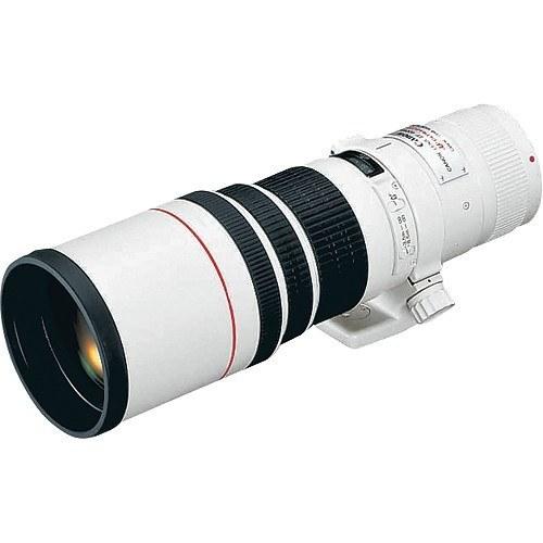 Canon EF 400mm f/5.6L USM Objektiv - Schrägansicht
