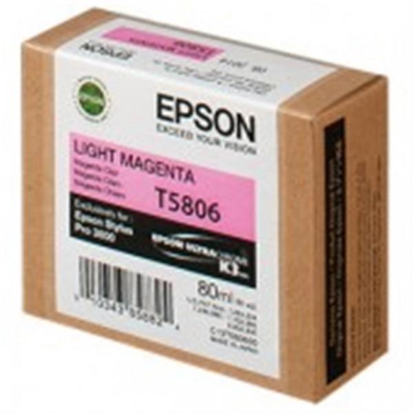 Epson T5806 Tintenpatrone light magenta 80ml für ESP 3800